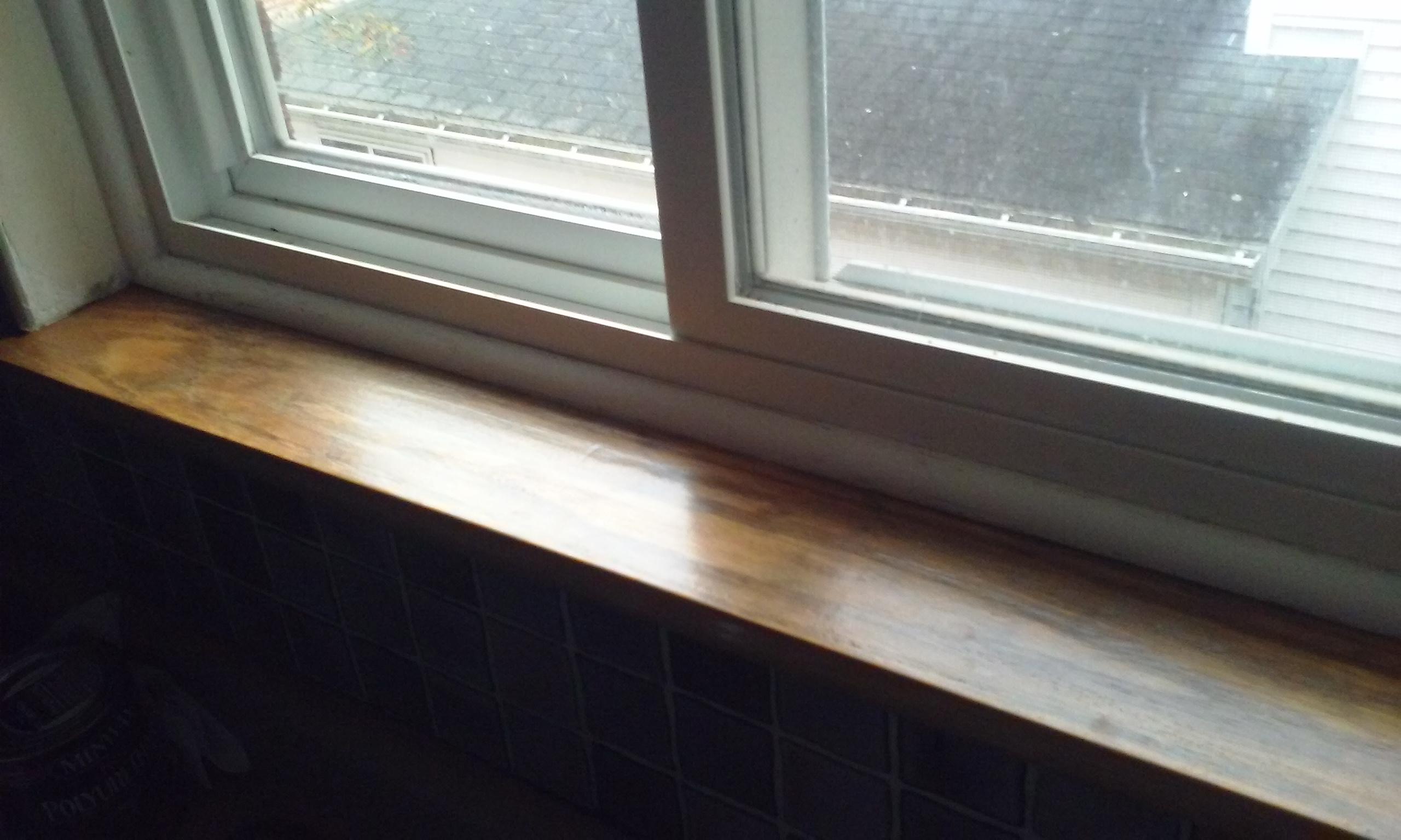 Waterproof Paint For Window Sills Bathroom Window Sill